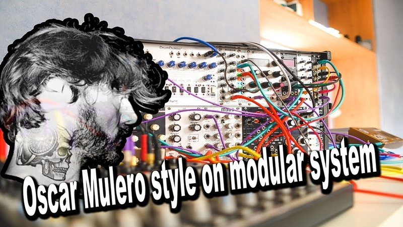 Oscar Mulero Style on modular system 22062018 RhitektoR - Becareful! Truck!