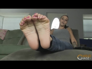 Sasha Foxx Foot And Sock Tease