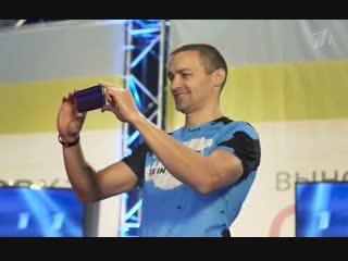 Андрей в рекламе на Русском Ниндзя