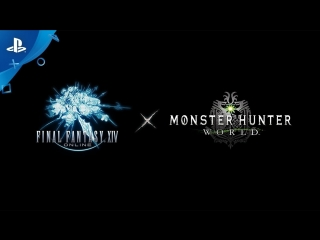 FFXIV × MH W Collaboration Teaser Trailer