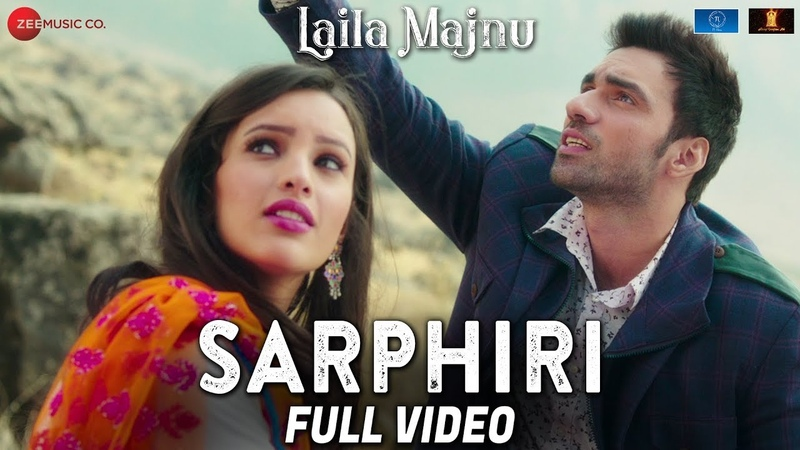 Sarphiri - Full Video | Laila Majnu | Shreya Ghoshal Babul Supriyo | Avinash Tiwary Tripti Dimri