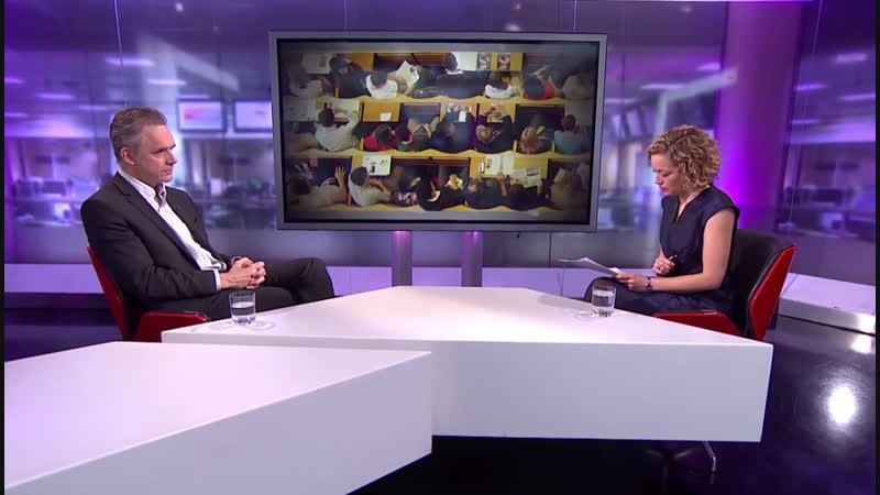 Джордан Питерсон и Кэти Ньюман Дебаты о феминизме и лобстерах