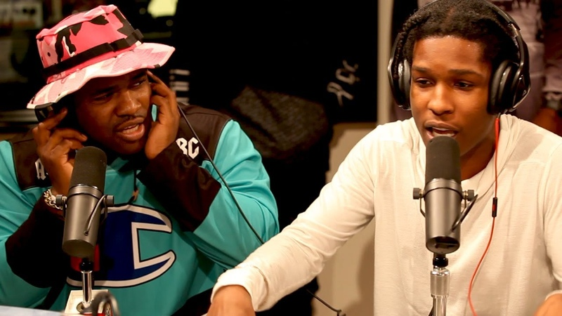 A$AP MOB FREESTYLES ON FLEX ONCE AGAIN