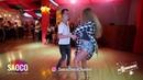 Sergey Vladimirovich and Tatyana Rakhmetulova Salsa Dancing in Respublika, Saturday 25.08.2018
