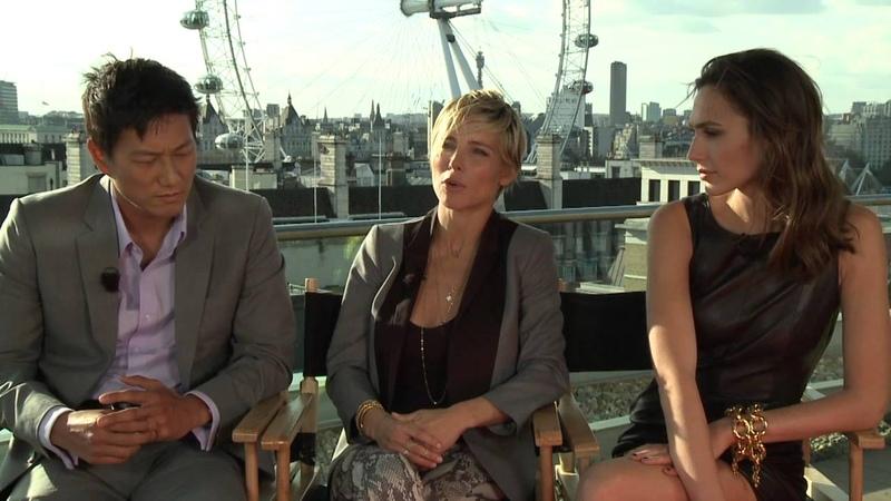 Gal Godot, Elsa Pataky Sung Kang's Fast Furious 6 Interview Pt.2 - Celebs.com