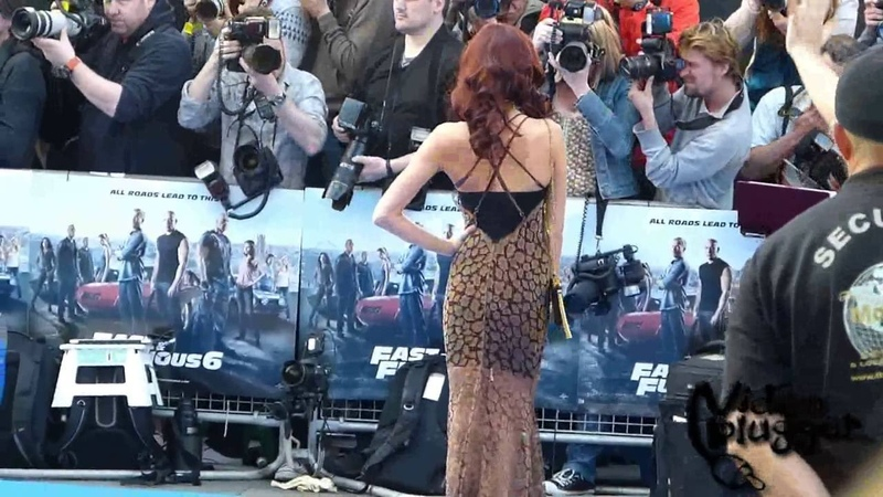 Elsa Pataky attends the World Premiere of Fast and Furious 6 in London