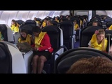 CABIN CREW TRAINING DITCHING - SHORT (1O MINUTE) PREPARATION