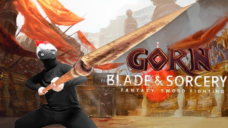 Зловещий Новый Год - Gorn, Blade and Sorcery и VR хорроры