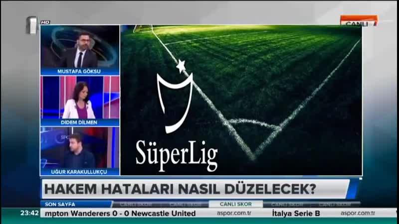 Uğur Karakullukçu Hakem Hataları Yorumu Galatasaray Trabzonspor Kayserispor Fenerbahçe
