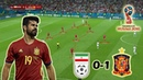 A Hard Earned Victory for Spain   Iran vs Spain 0-1   Tactical Analysis   World Cup 2018