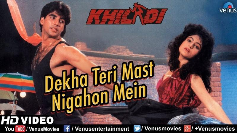 Dekha Teri Mast Nigahon Mein Full Video Song Khiladi Akshay Kumar Ayesha Jhulka