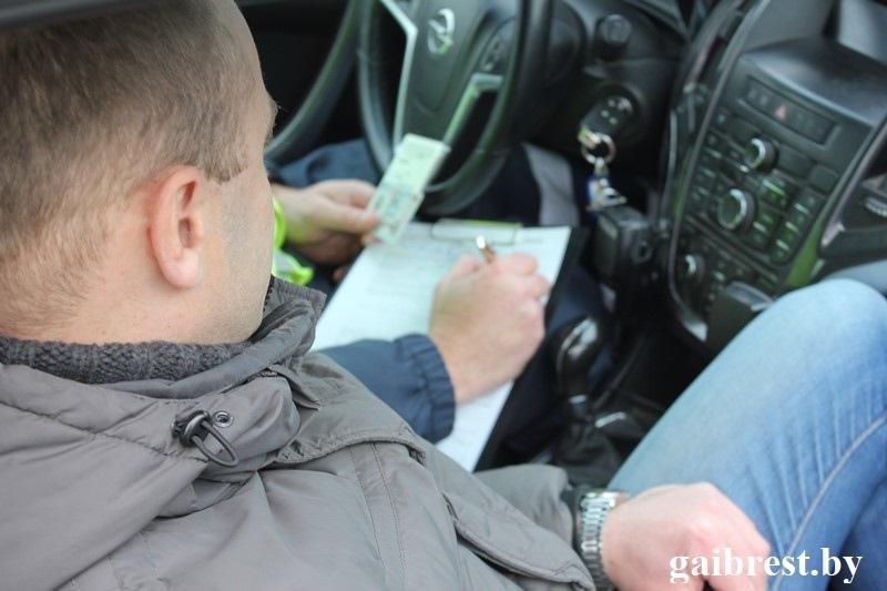 ГАИ провела рейд по выявлению автомобилей, не оборудованных зимними шинами