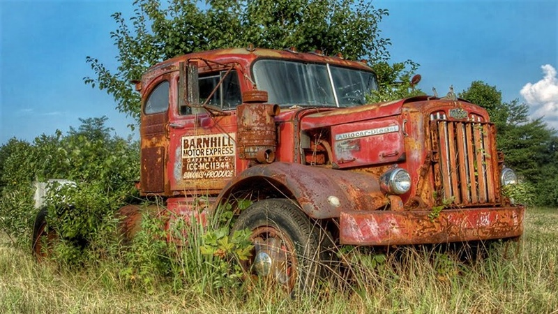Caminhões Abandonados -TESOUROS ESQUECIDOS