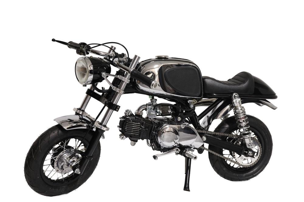 Utopeia Moto Company: Мини кафе рейсер Honda Monkey