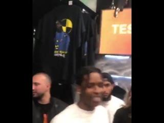 A$AP Rocky танцует под трек XXXtentacion — Look At Me! [Cloud Music]