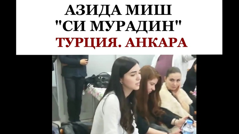 АЗИДА МИШ - СИ МУРАДИН. АНКАРА. ТУРЦИЯ 2018