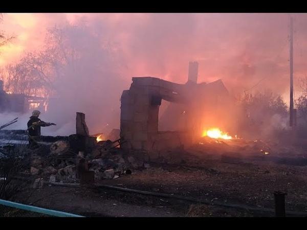 Пожары в деревнях Алтайского края: Barnaul 22 оказал гуманитарную помощь - съемки с места событий (Barnaul22)