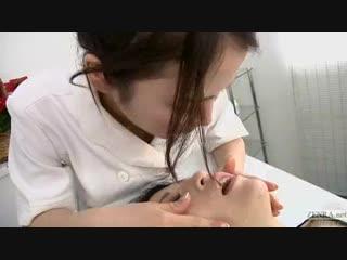 Japanese_lesbian_erotic_spitting_massage_clinic_Subtitled.mp4