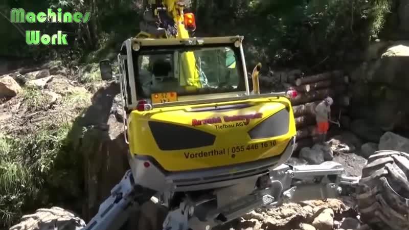 Worlds Dangerous Idiots Excavator Monster Heavy Equipment Operator Skill Driving Fastest Machines