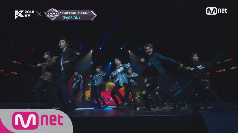 [KCON 2018 NY] Stray Kids PENTAGON - ROCK Dance Perf.ㅣKCON 2018 NY x M COUNTDOWN 180705 EP.577