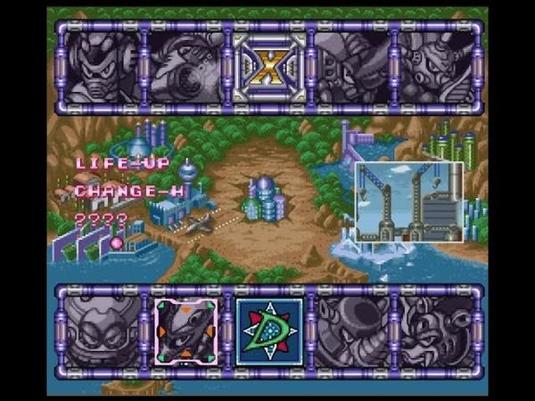 Мега Мен Х3 - Часть 10 - Третья Броня и Live Up - Часть 1/2 - (Прохождение на SNES)