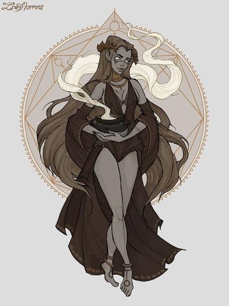 Как бы выглядели знаки зодиака, будь они темными ведьмами. Часть 1.Талантливая российская художница, известная как Iren Horrors, изобразила знаки зодиака в образе темных ведьм. Девушка сначала