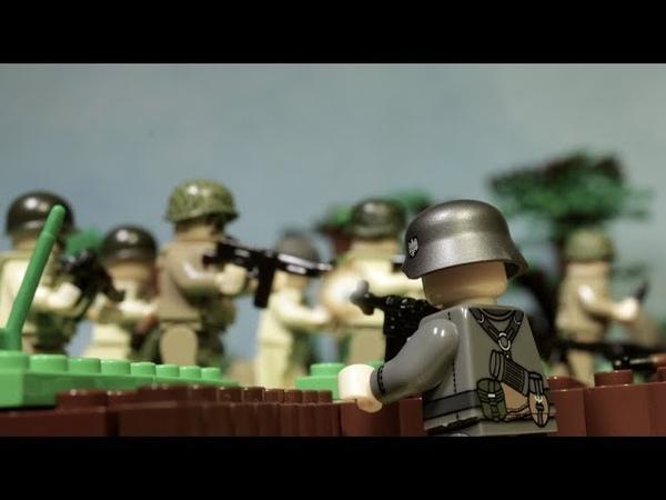 Лего фильм Братья по оружию Нормандия 1944 День Д Битва за поместье Брекур Все серии вместе