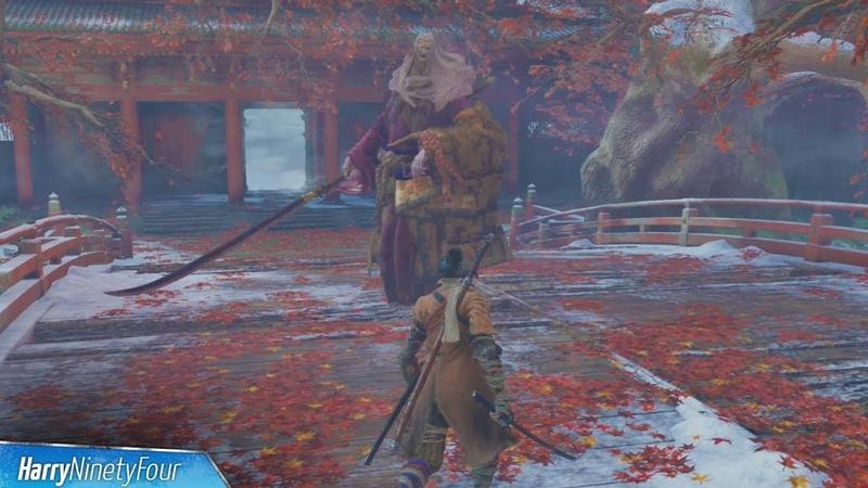 Sekiro Shadows Die Twice - True Corrupted Monk Boss Fight (Very Easy Method)