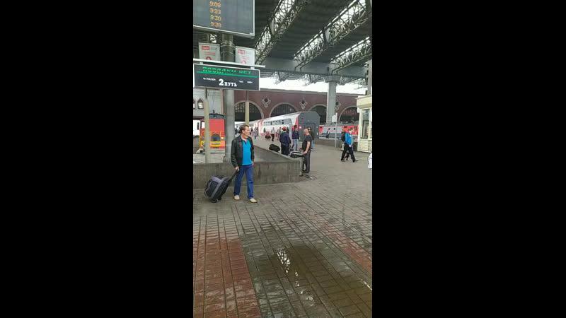 В Анапу Казанский вокзал