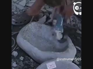 Каменная мойка - своими руками - Глаза боятся - руки делают