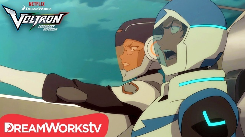 Last One To The Base is Toast | DREAMWORKS VOLTRON LEGENDARY DEFENDER