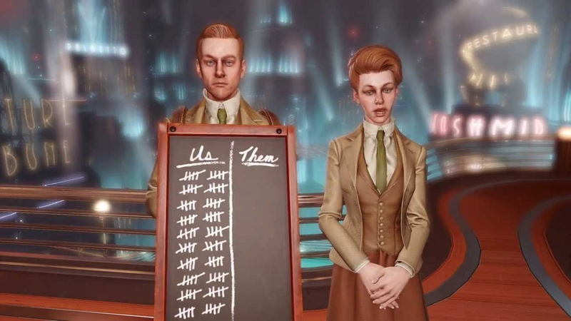 Bioshock Infinite Lutece Nomination and Acceptance Spikes VGX Best Character of the Year award