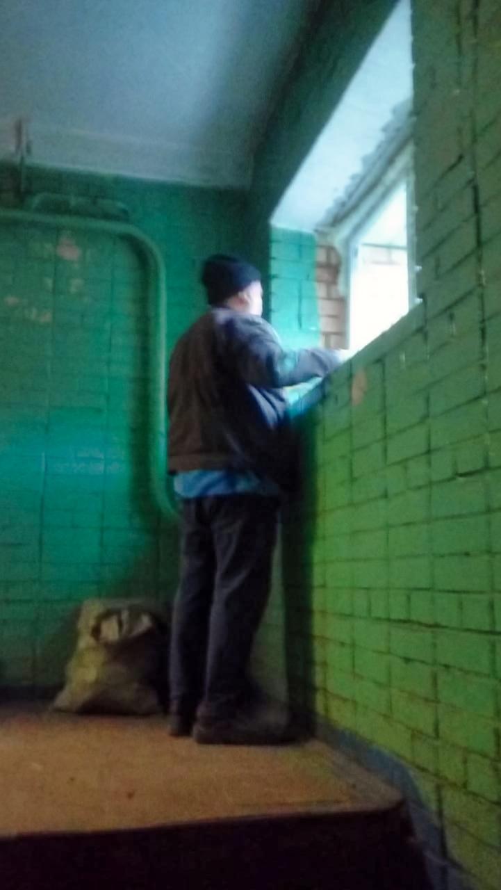 Ремонтируем подъезд на Комсомольской, 4
