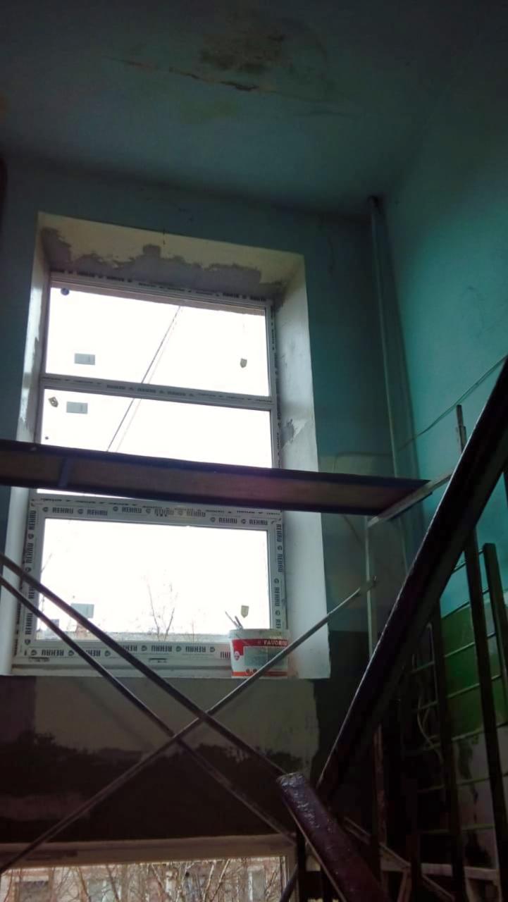 Ремонтируем подъезд на Ленина, 15