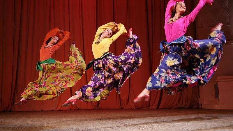 Танец Бессарабских цыган. ГААНТ имени Игоря Моисеева.