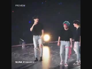 The fact that the rest of the boys are laughing when namjoon looked so confused when he do