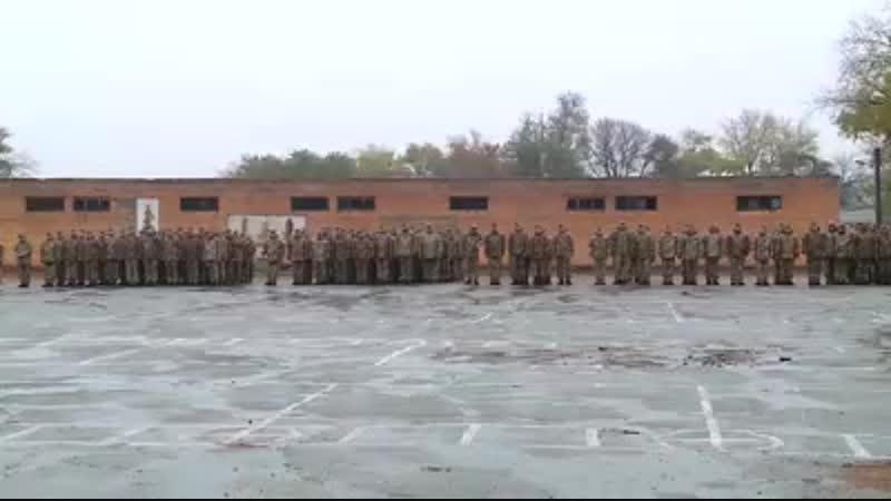 Урочиста зустріч військовослужбовців 55 ї окремої бригади