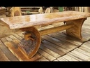 🔴 Wooden Homemade Furniture. Unusual Chairs, Tables ....