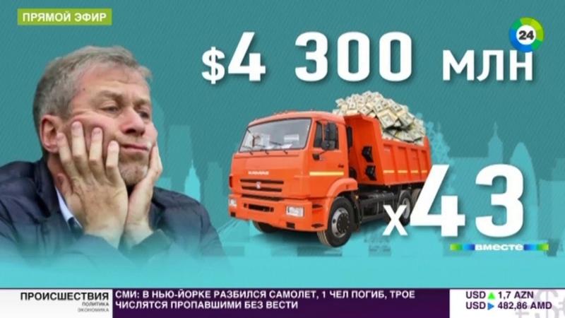Русский миллиардер Абрамович пошел по еврейской линии