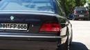 BMW 740i E38 V8 custom exhaust sound by Navid