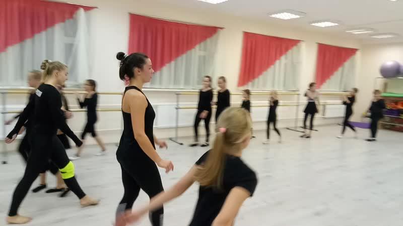 Прыжки. Детский театр Танца и СветоТени Plazma. Студия Пируэт. Петрозаводс