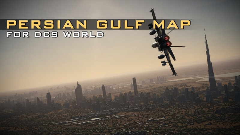 Persian Gulf Map for DCS World - Pre-Purchase Trailer