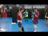 Тренировка в клубе Puro Impacto. Barcelona