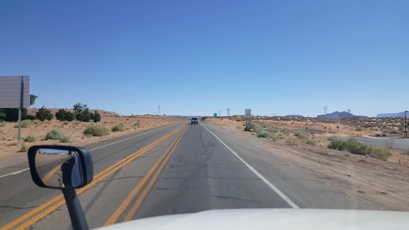BigRigTravels US Highway 89 Southbound in Arizona-June 19, 2018