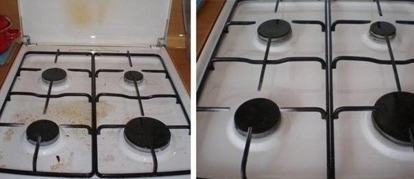 Чистая плита без усилий.