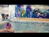 Индивидуальная тренировка в плавании с ребенком.