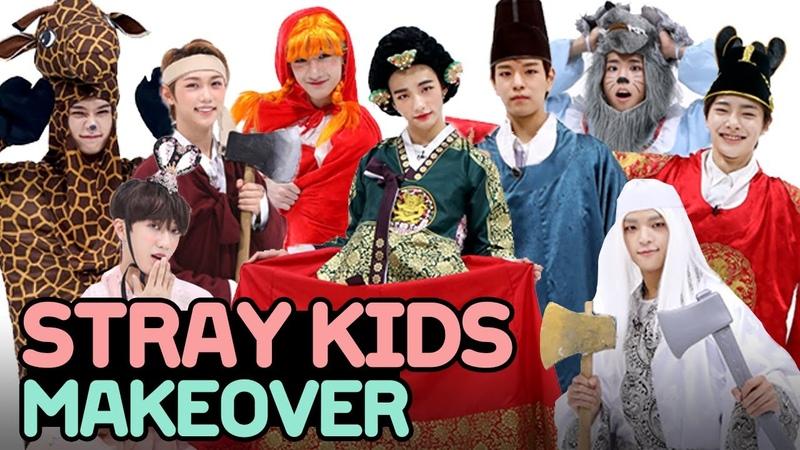 181110 Поздняя хэллоуинская вечеринка со Stray Kids • ENG SUB @ Dingo K-Drama