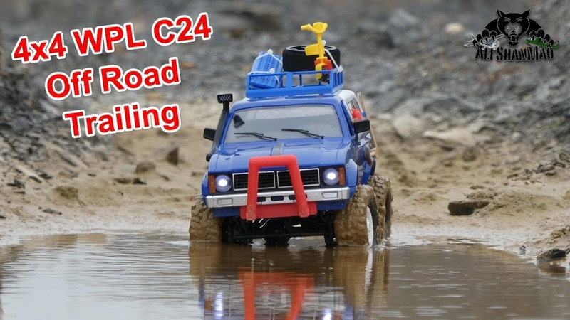 WPL C24 Cheap 4x4 RC Truck that Performs more than it costs