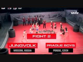 Бои без правил 5 на 5 Россия против Чехии