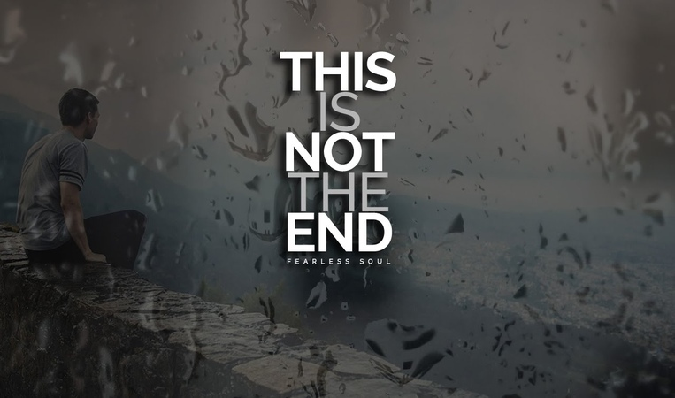 This Is Not The End - Inspiring Speech On Depression Mental Health